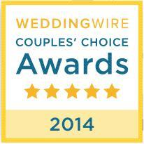 2014 WeddingWire Couple's Choice Award