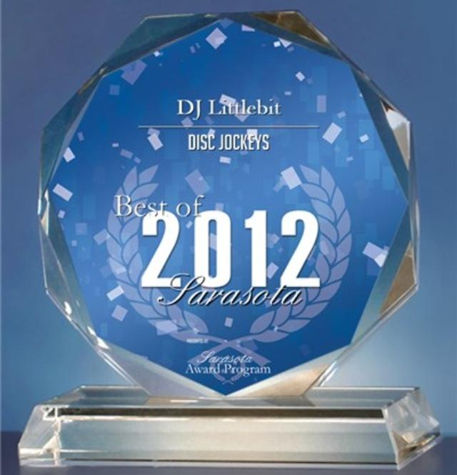 DJ Littlebit Receives 2012 Best of Sarasota Award
