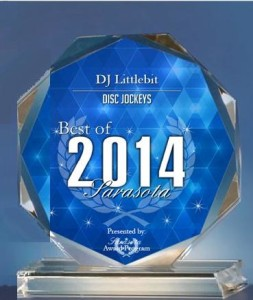 DJ Littlebit Receives 2014 Best of Sarasota Award