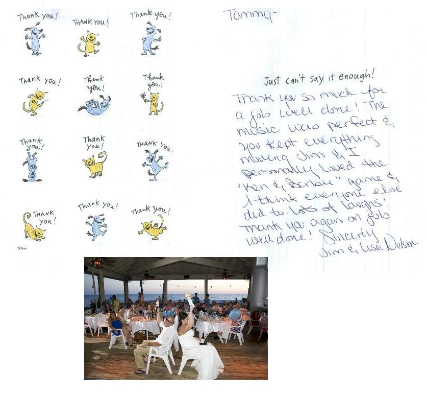 2014-06-07 - Lisa and Jim Nelson Thank you card with picture