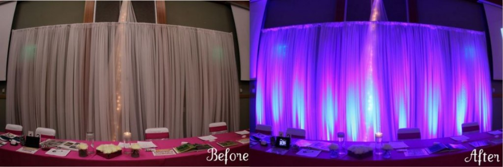 Uplighting before and after-2